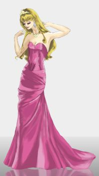 Sleeping Beauty Evening Dress by CarolinaSoul