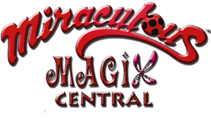 Miraculous Magix Central Logo 3D by NatalieGuest
