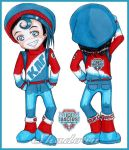Chibi Gijinka: Ice Racers Raoul. by Shadoru-Flames
