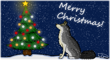 Merry Christmas! by AnDrewDrawsArt