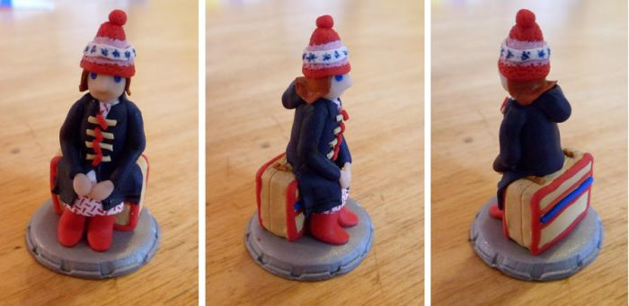 Amelia Pond - chess piece by EldalinSkywalker