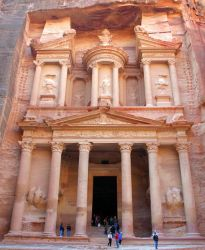 Petra - Full View by Delusionist