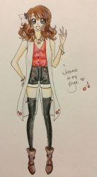Cherry Welcomes! by prettycure97