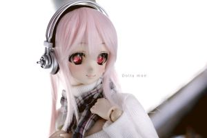 Sonico Dollfie Dream custom by H--neko