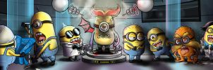 Despicable Minions by psaul20