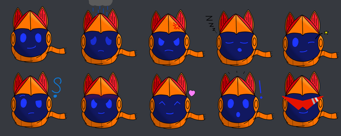 Spiral Knights - Expressions by matejko124