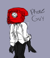 Phone Guy by royalshame