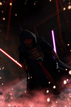 Revan. Journey down the Dark side... by DarielZerenski