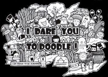 I DARE YOU TO DOODLE By Aivvia