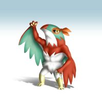 Hawlucha for Smash Bros. by Yfighter2