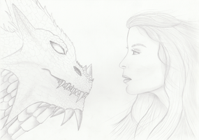 Sketch for ''Eye to eye'' painting by getupp