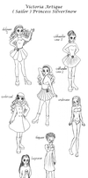 Victoria - SilverSnow outfit ref by Chibi-Sugar
