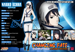 Nariko Uchiha Bio Card (Changing Fate Part 2) by dreamchaser21