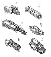 Gcon Assorted ships by Csp499