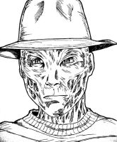 Freddy Krueger--WIP by AetheriumDreams