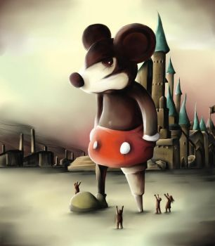 Mickey's kingdom by Jacquesmarcotte