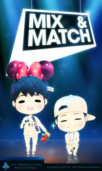 YG B.I and Bobby MIXANDMATCH IN BEIJING_01 by candystar2008