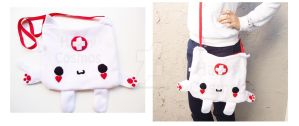 Kitty Paw Nurse Bag by CosmiCosmos