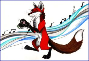 The Flow of Music by CatBeast17