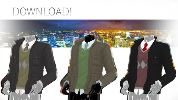 TDA Adult Male Fitted Jacket DOWNLOAD! by NEPHNASHINE-P