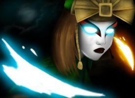 The Avatar Kyoshi by SirNerdly