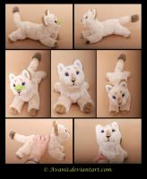 Plushie Commission: Lou the Lioness by Avanii