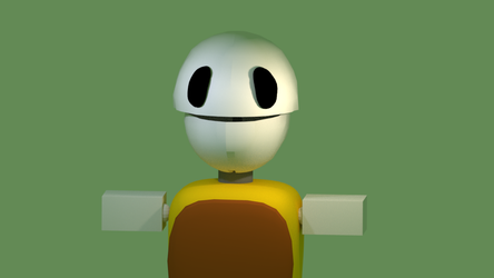 (Blender) A thing WIP 1 by TheDoubleAxe