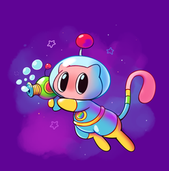 Space Mew by HappyCrumble