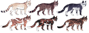 Cat Adopts 15 [CLOSED] by Chintzy-Adopts