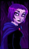 Teen Titans Raven by dreamwatcher7