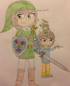 Top 3 Favorite LOZ Games by Amulet-Voltaire