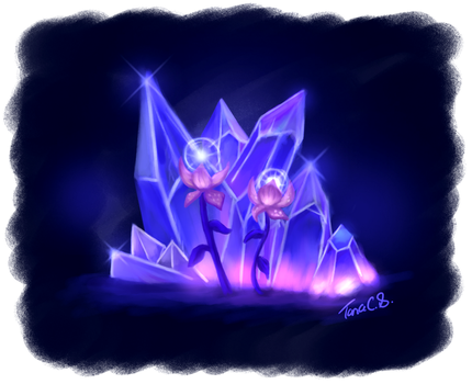 World of Warcraft - Azurewing Repose Crystals by TaraOBerry