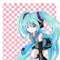 1000 watchers thank you! by mikuhime