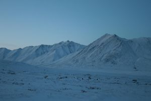 Snowy mountains 1 by Arctic-Stock