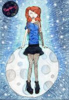 Moon Lady by MagPiek