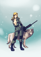 .Sniper Wolf. by CarlaNatalie