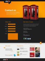 Stage: Contact us +WIP+ by crazyclouds