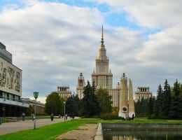 Moscow State University by Knjagna