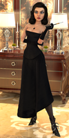 Evening at Kashmir (Full Body) by Pseudonym3D