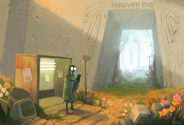 Heaven Inc by Mineiti