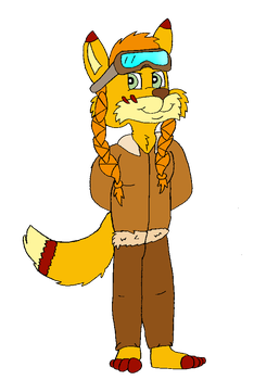 (AT) Lizzy the adventurous fox by TheEvstar