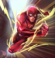 The Flash by VadimLityuk