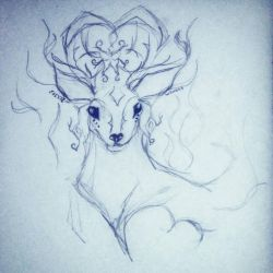 Stagdoodle by Scr1b3