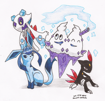 Chill Pokemon Group - Colour