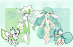 .:CLOSED AUCTION:. Wingu collab with catfinches by Valyriana