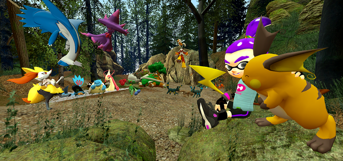 GMod: A Trip To The Woods by LittleBLUDragoness