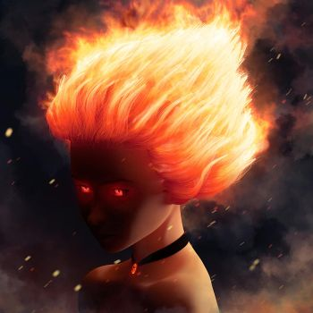 flame by Ssendm