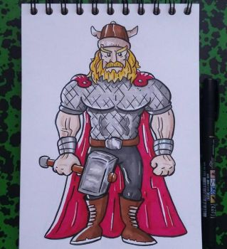 Thor  by tomcollemare