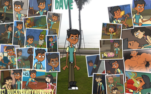 :+:Total Drama Pix Wallpaper-Dave:+: by QuickDrawDynoPhooey