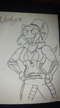 Undyne the trainer by Cd749